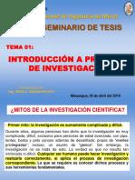 Clase 01 Introducción Inv Cientifica