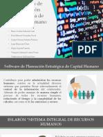 Softwares planeación estratégica de Capital Humano