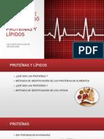 Métodos de Identificación de Proteínas y Lípidos