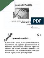 Sesión 3 - MECFLU - Estática de Los Fluidos - Presión - PARTE1