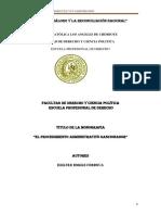 el procedimiento administrativo monografía.docx