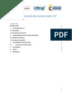 Documentacion Saber Tyt