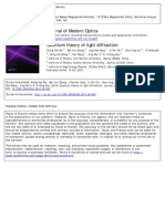 Quantum Theory of Light Diffraction