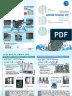 Actifiber Filteration UNIT