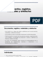 Documentos, registros, materiales y artefactos.pptx