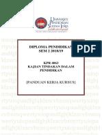 Panduan Tugasan Kpr 4063 Dpli Jai Sem 2 2018-19 (1)