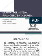GESTION DEL SISTEMA FINANCIERO EN COLOMBIA