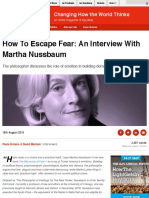 How to Escape Fear