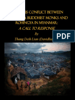 Religious Conflict between Theravada Buddhist Monks and Rohingya in Myanmar