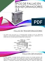 Tipos de Fallas en Transformadores