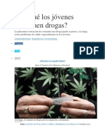 Por Qué Los Jóvenes Consumen Drogas
