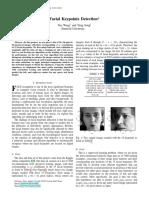 Yue Wang,Yang Song,Facial Keypoints Detection