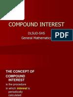 Genmath Compound Interest
