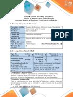 Guía de actividades y rúbrica de evaluación - Paso 2 - Planificar la calidad en el proyecto