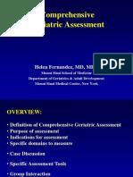 Interdisciplinary Geriatric Assessment by Helen Fernandez, MD, MPH