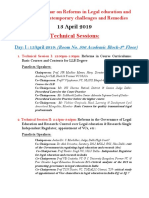 NLUD Technical Sessions 13-14 April 2019
