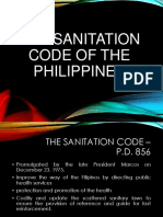 Sanitation Code