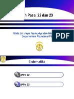 PPH Pasal 22-23