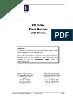 98-115 v14.0 PM1000+ User Manual