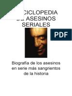 Enciclopedia de asesinos seriales