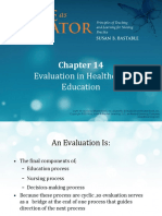 Chapter 14 health education