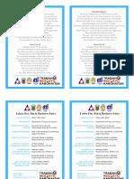 Program Format for Printing