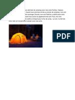 joshua silvanus - on a fait du camping le week-end dernier