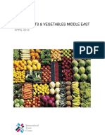 Middle East Fruit and Vegetables April 2015