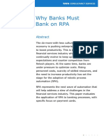Why Banks Must Bank on RPA