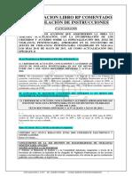 Actualizacion Libro RP e Instrucciones de 8 de Agosto de 2017