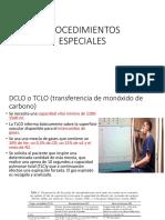 PROCEDIMIENTOS ESPECIALES EPOC
