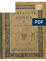 Institute.Songs 1910