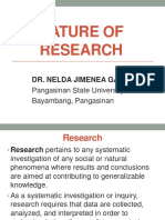 1. Neldas Nature of Research