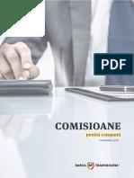 Comisioane_PJ Banca Transilvania