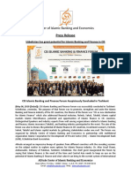 Press Release - CIS Islamic Finance Forum