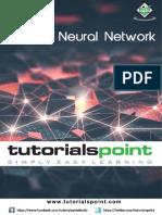 Artificial Neural Network Tutorial