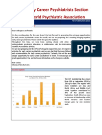 WPA Section on Early Career Psychiatrists Newsletter-first-quarter2019