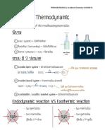 Thermodynamic Sheet