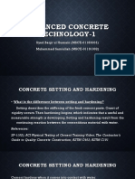 4. Concrete Setting and Hardening