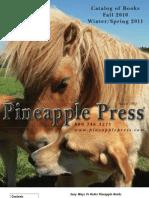 Pineapple Press Fall 2010 Catalog