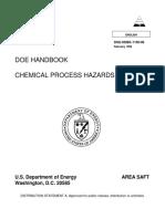 DOE-HDBK-1100-96 - Fundamentals Handbook Chemical Process Hazards Analysis [DOE 1996]