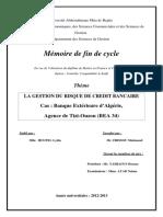 La gestion du risque de credit bancaire.pdf