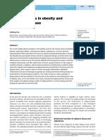 Adipocytokines in Obesity and Metabolism
