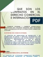 CONTRATOS EN EL COMERCIO NACIONAL E INTERNACIONAL