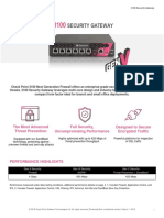 3100 Security Gateway Datasheet