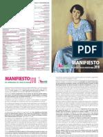 Manifiesto2018 Español2