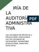 Teoría de La Auditoría Administrativa 5