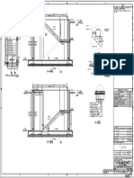GA & rebar detail of staircase