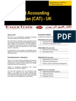 Certified Accounting Technician (CAT) - UK-QA