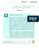 Programa-Plan de clases-Crit. de Evaluación 1° Cohorte 2019